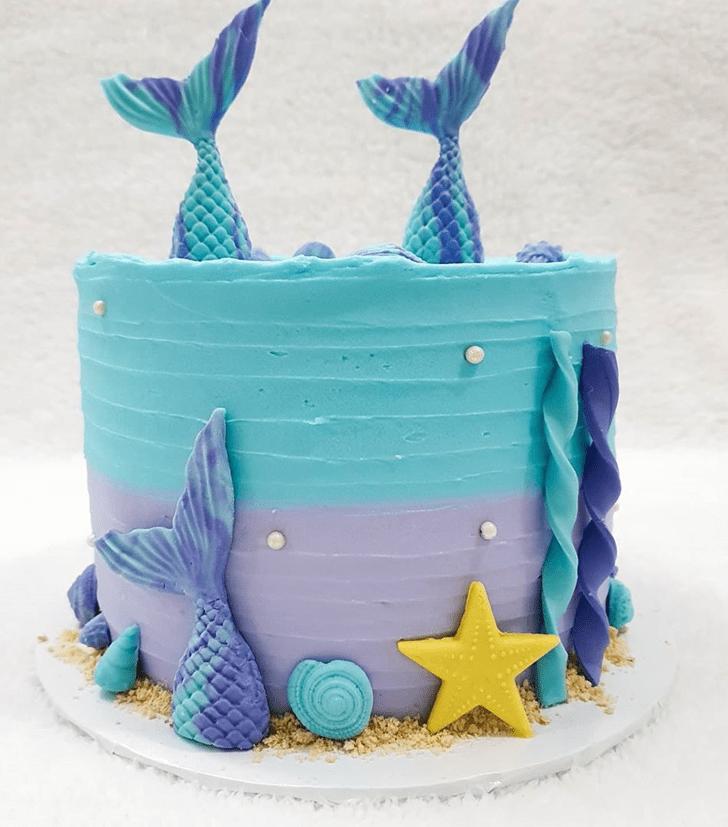 Fine Coral Cake