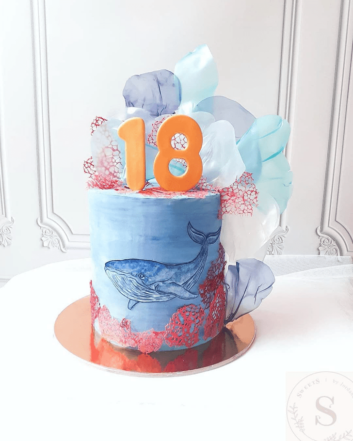 Magnificent Coral Cake