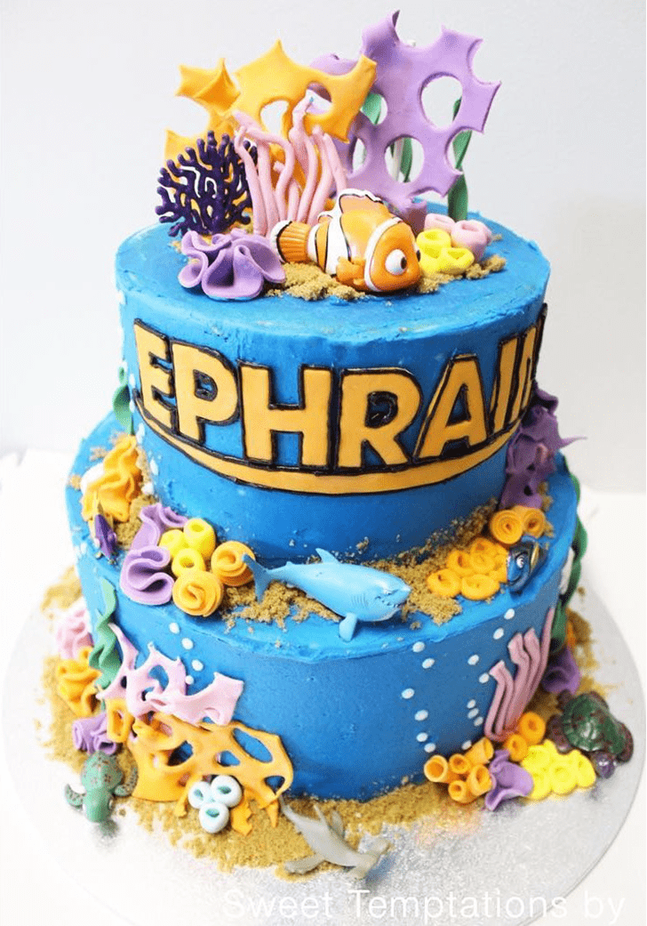 Marvelous Coral Cake
