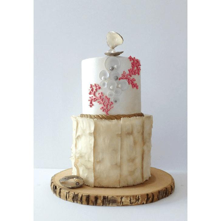 Superb Coral Cake