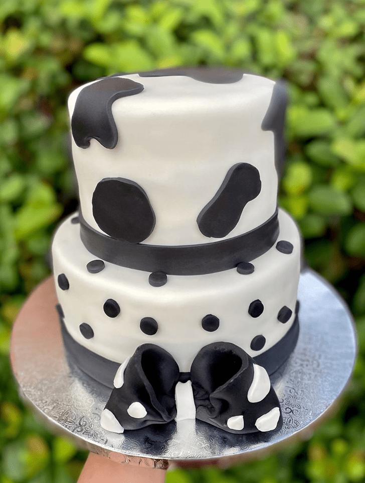 Adorable Cow Cake