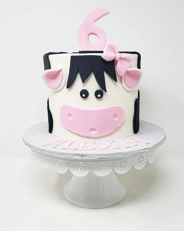Charming Cow Cake