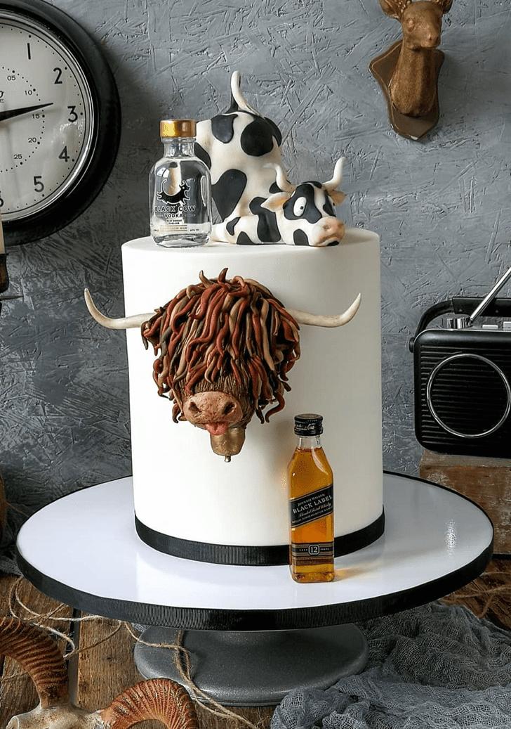 Delicate Cow Cake