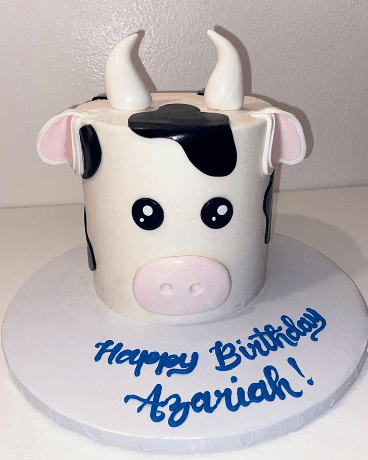 Enticing Cow Cake