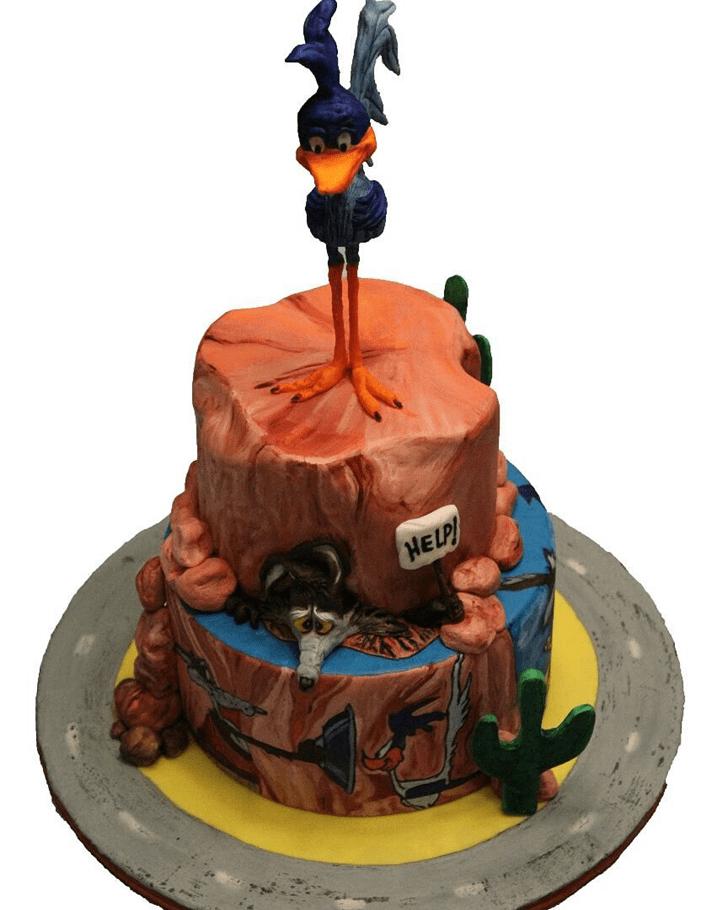 Admirable Coyote Cake Design