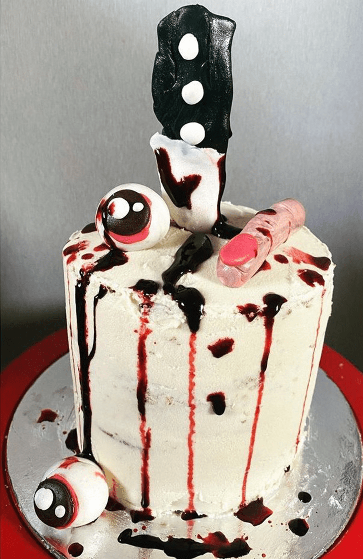 Admirable Creepy Cake Design