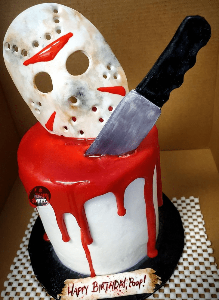 Adorable Creepy Cake