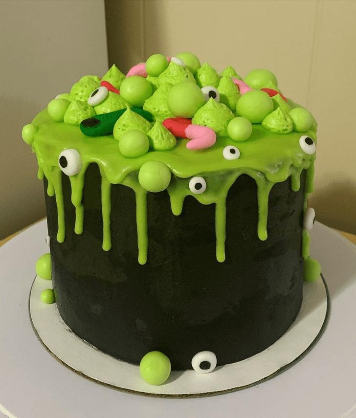 Charming Creepy Cake