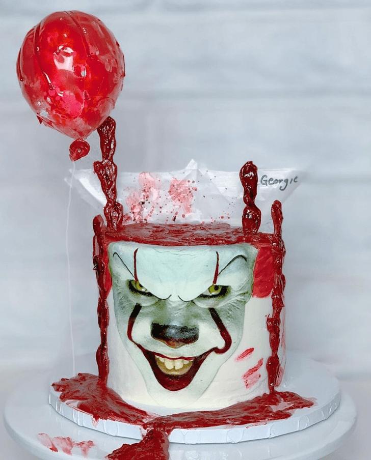 Cute Creepy Cake
