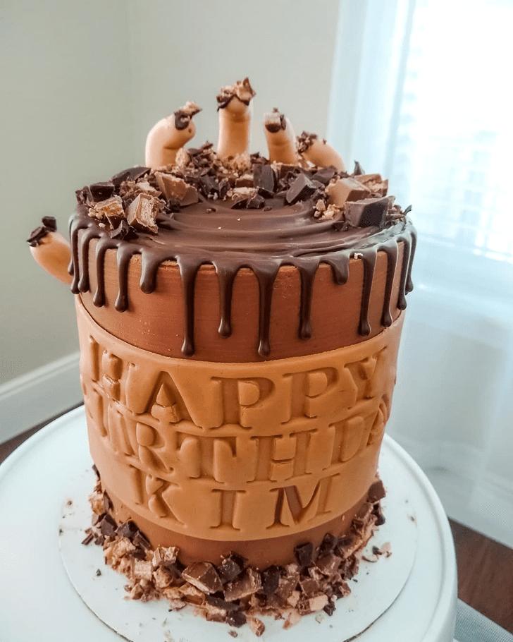 Delicate Creepy Cake