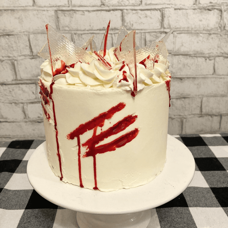 Enticing Creepy Cake