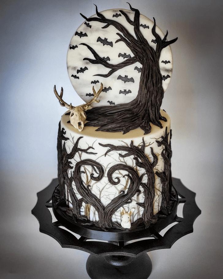 Exquisite Creepy Cake