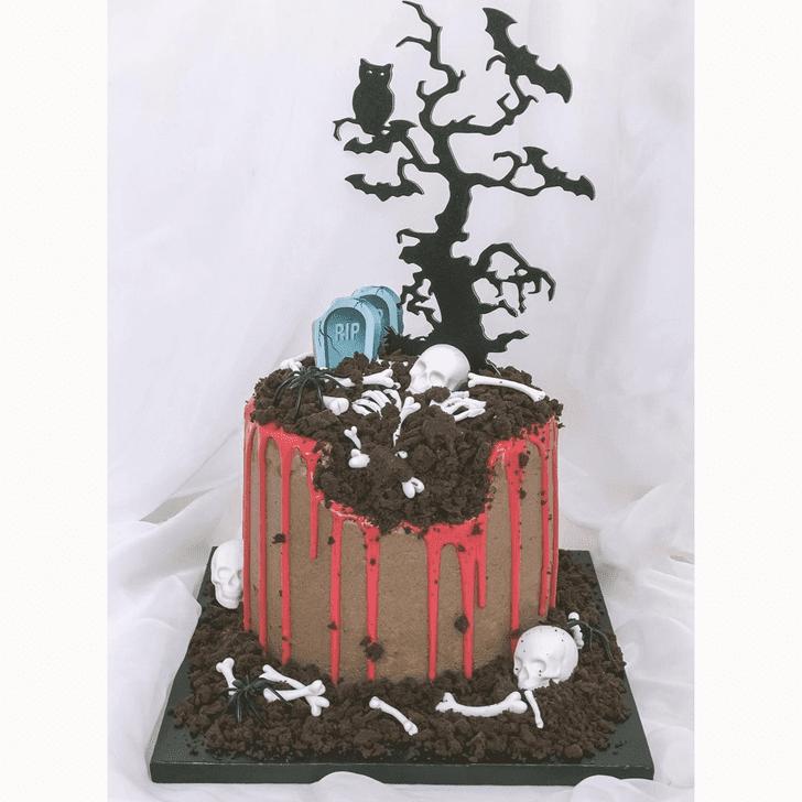 Fascinating Creepy Cake