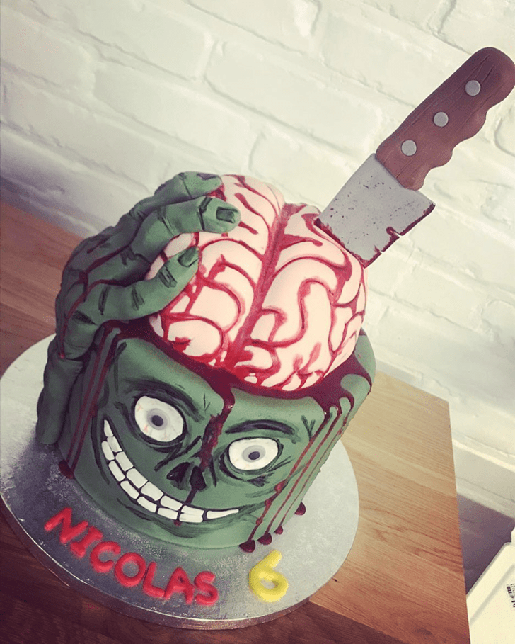 Marvelous Creepy Cake