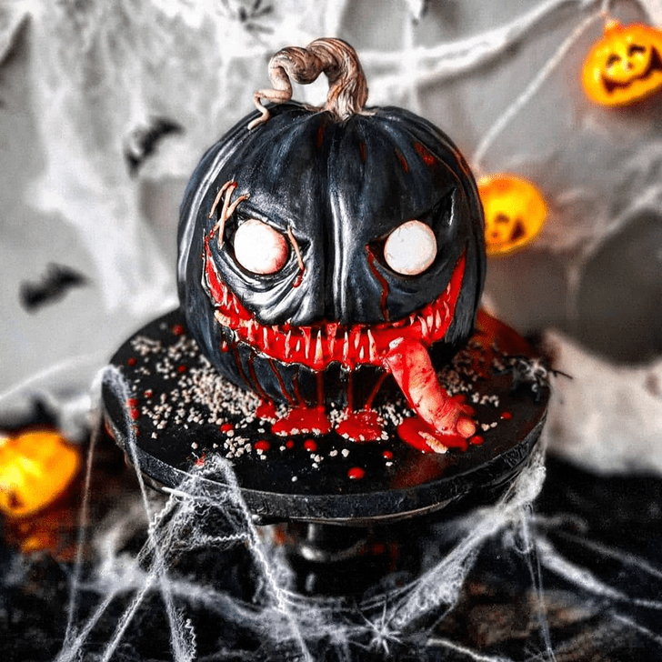 Pretty Creepy Cake