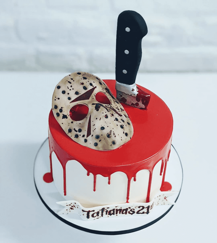 Radiant Creepy Cake