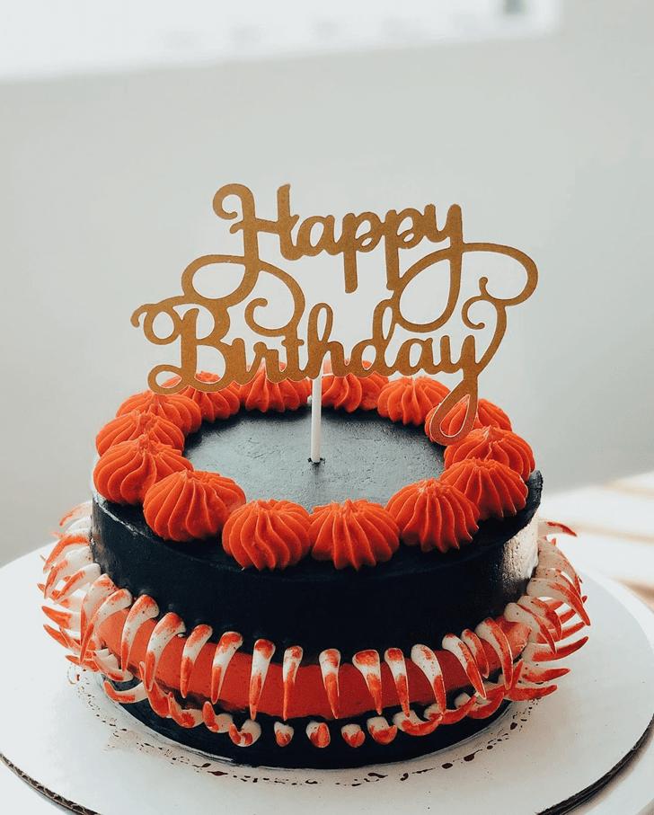 Shapely Creepy Cake