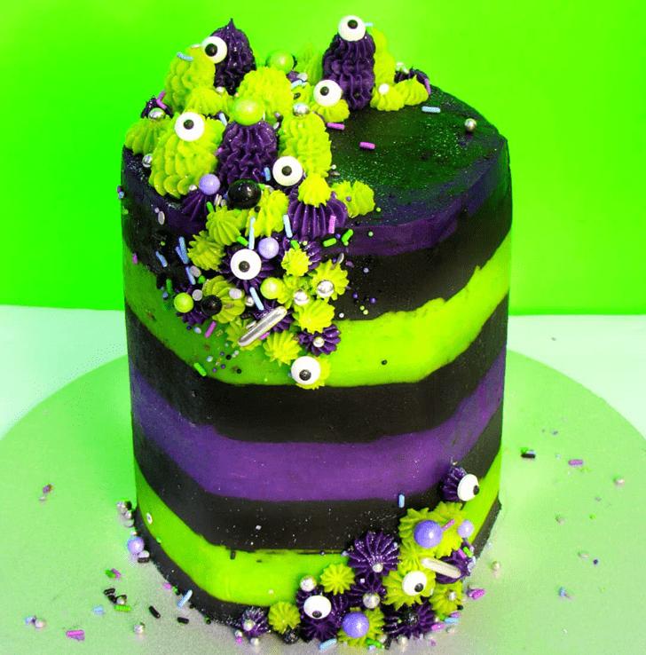 Slightly Creepy Cake