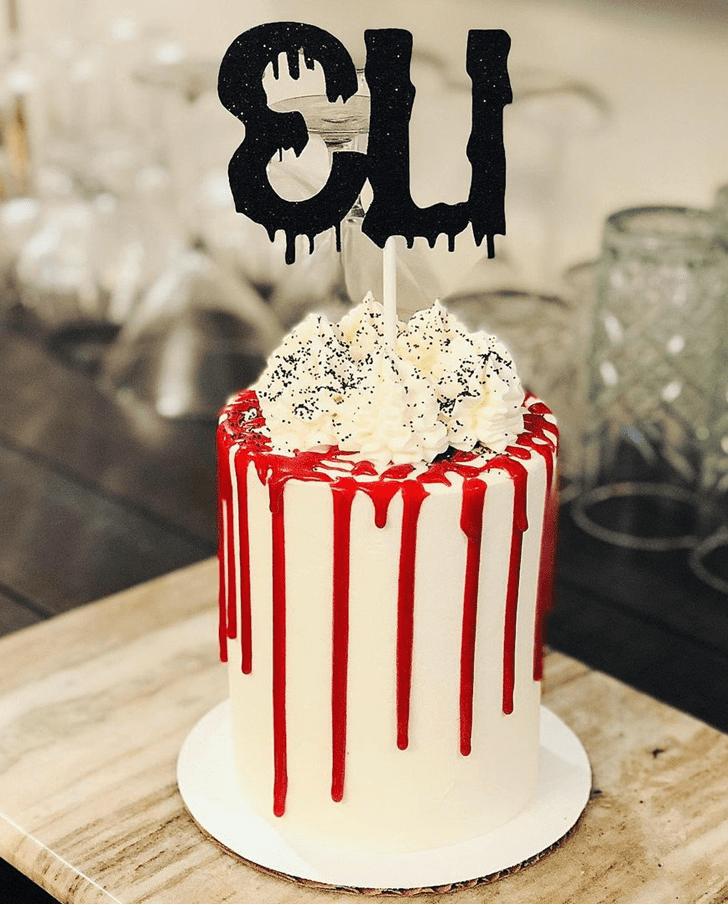 Wonderful Creepy Cake Design