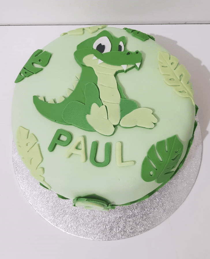 Appealing Crocodile Cake