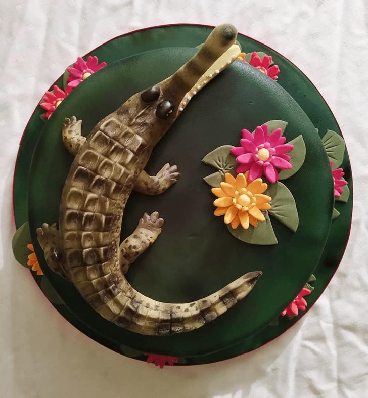 Excellent Crocodile Cake