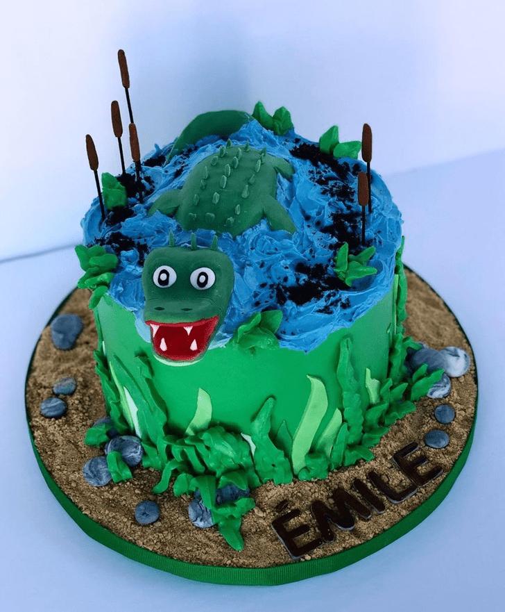 Fair Crocodile Cake