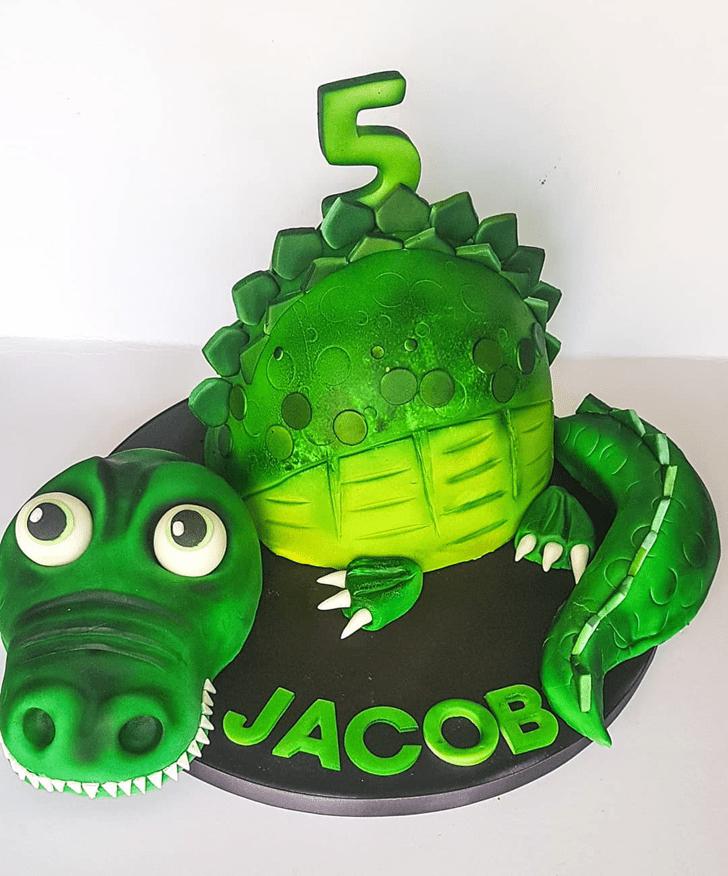 Fetching Crocodile Cake