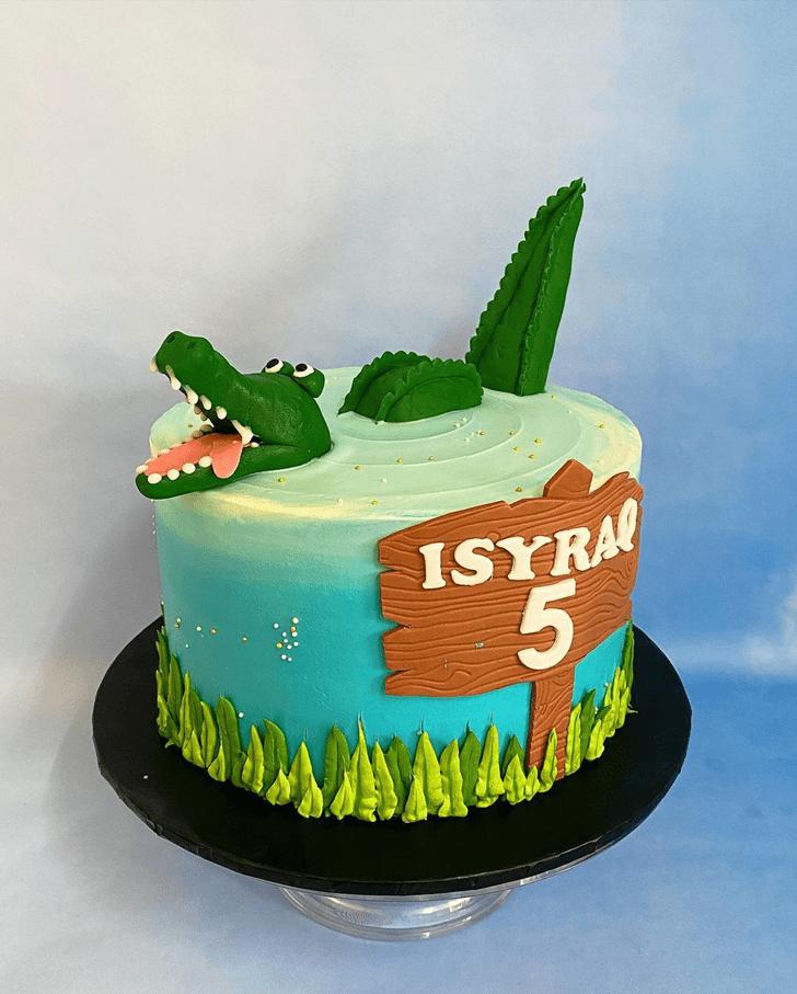 Nice Crocodile Cake