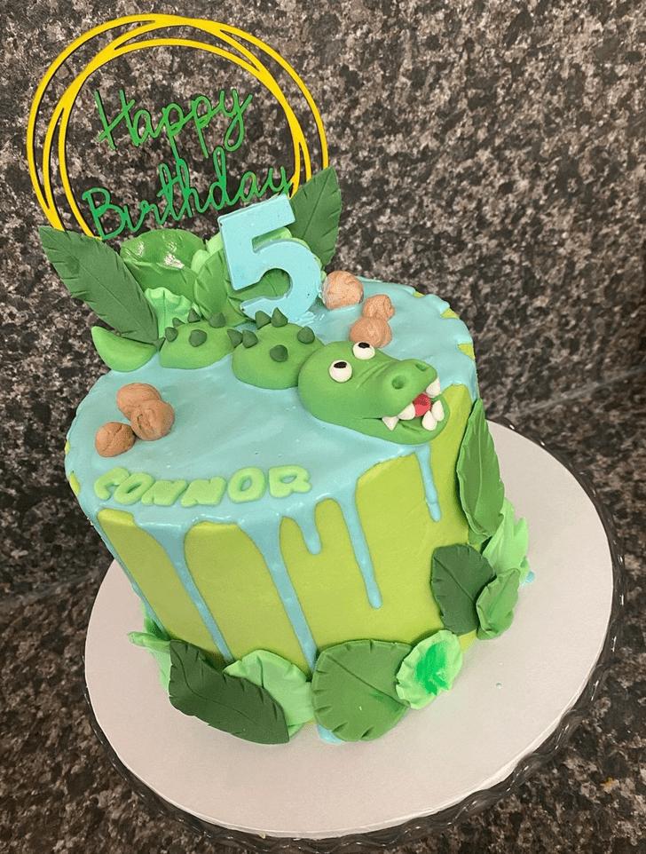 Ravishing Crocodile Cake