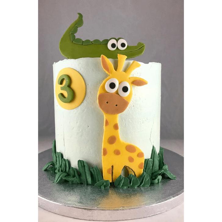ShCrocodilely Crocodile Cake