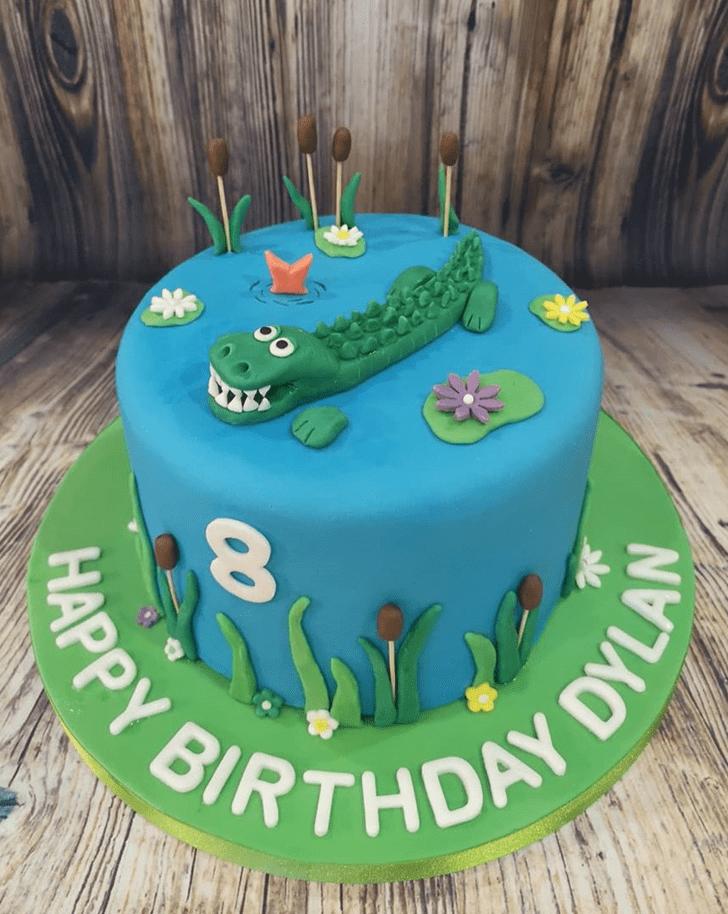 Stunning Crocodile Cake