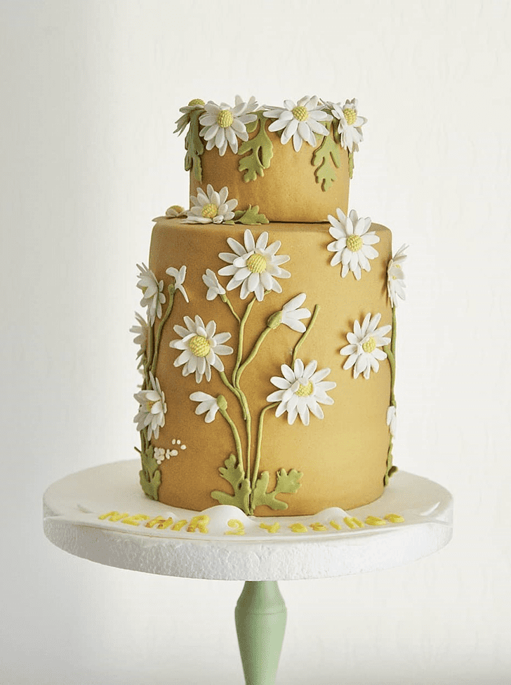 Captivating Daisy Cake