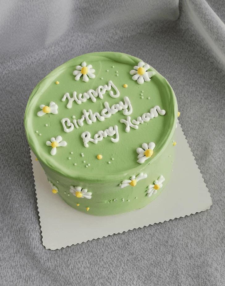 Delightful Daisy Cake