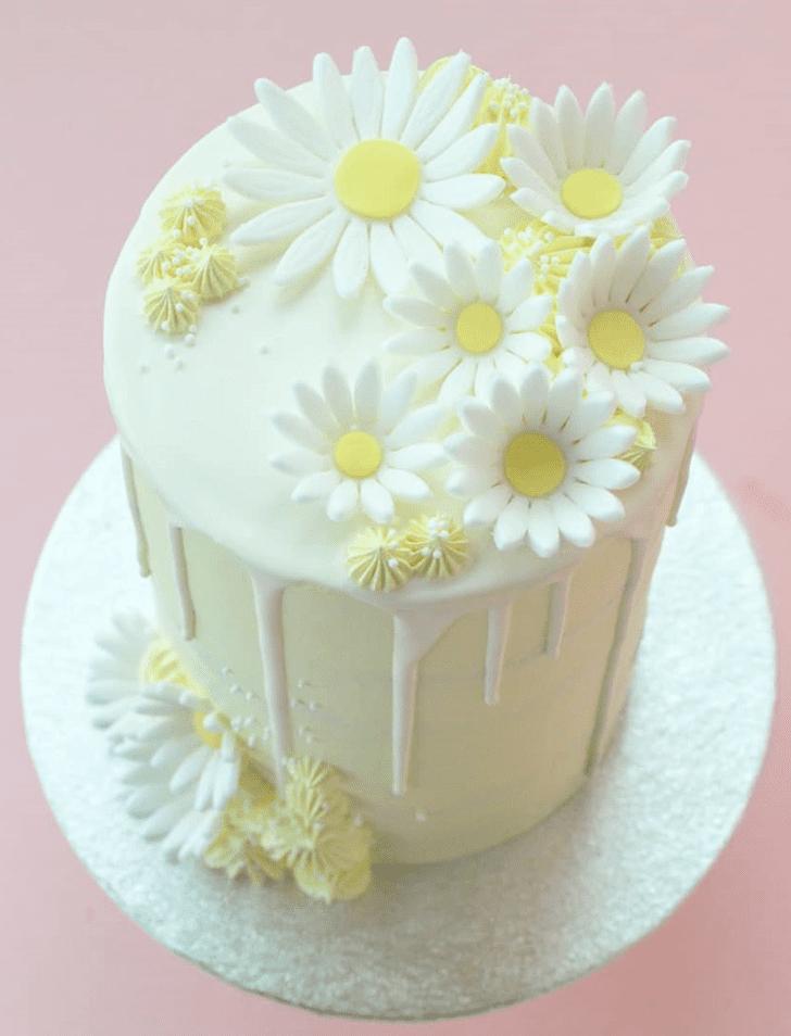 Fascinating Daisy Cake