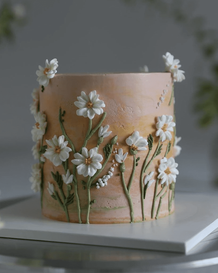 Magnetic Daisy Cake