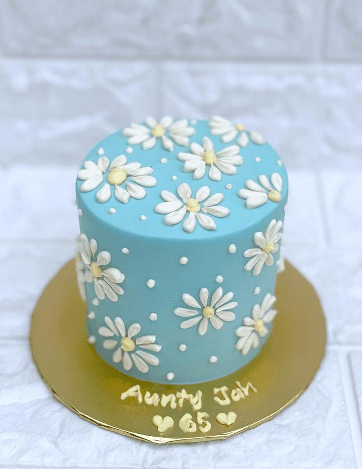 Marvelous Daisy Cake