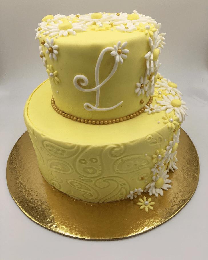Ravishing Daisy Cake