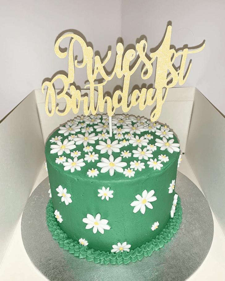 Splendid Daisy Cake