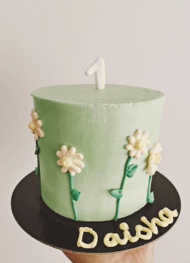 Daisyful Daisy Cake Design