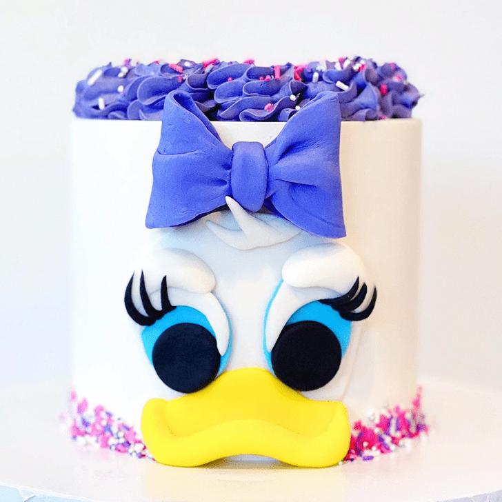 Delightful Daisy Duck Cake