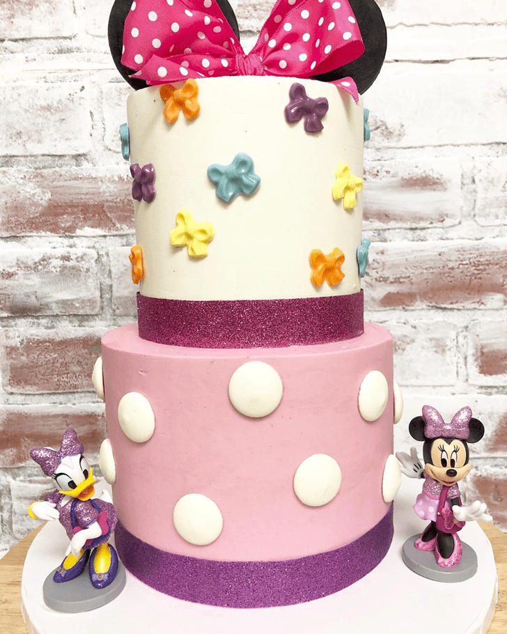 Magnetic Daisy Duck Cake