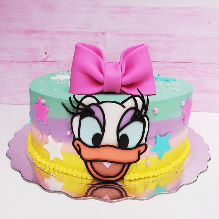 Mesmeric Daisy Duck Cake