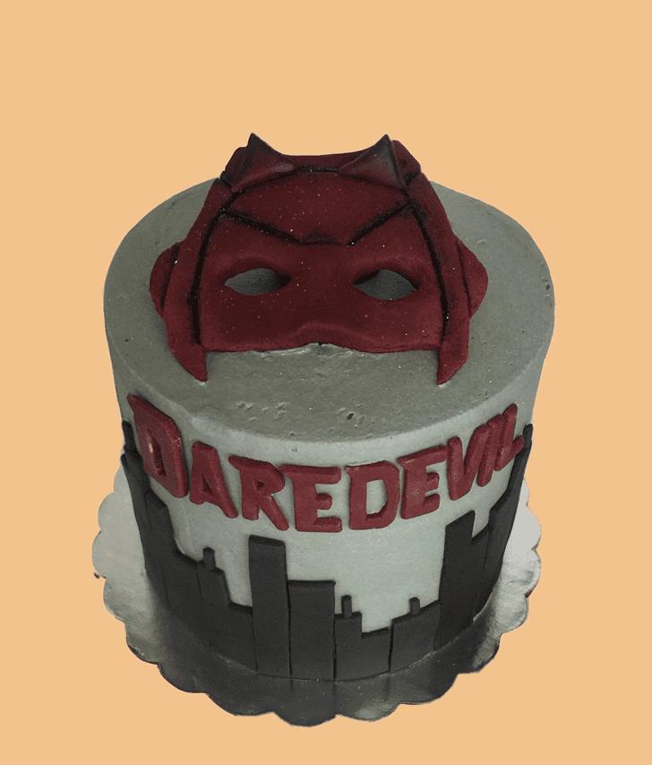 Admirable Daredevil Cake Design