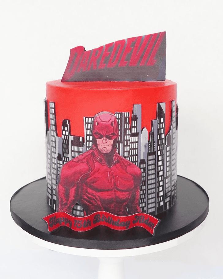 Bewitching Daredevil Cake