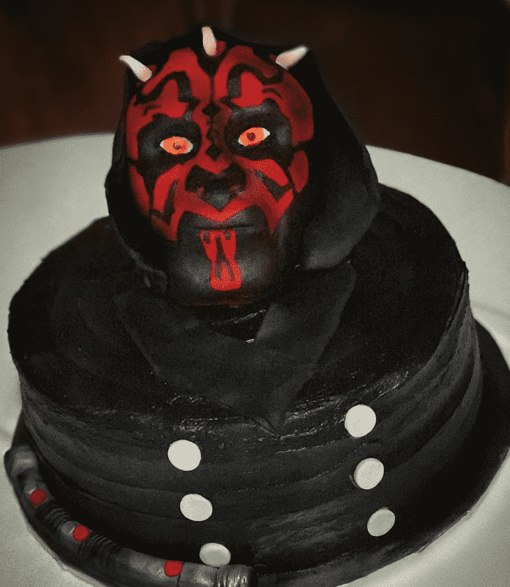 Bewitching Darth Maul Cake