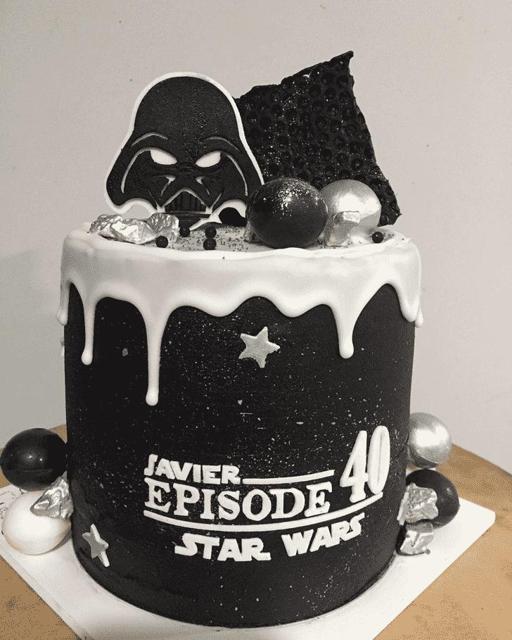 Bewitching Darth Vader Cake