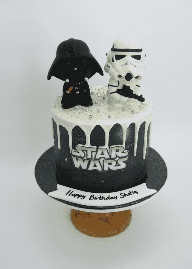 Captivating Darth Vader Cake