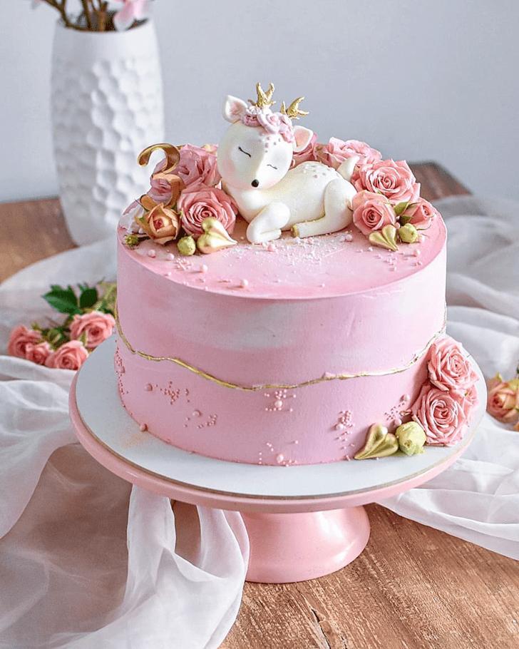 Admirable Deer Cake Design