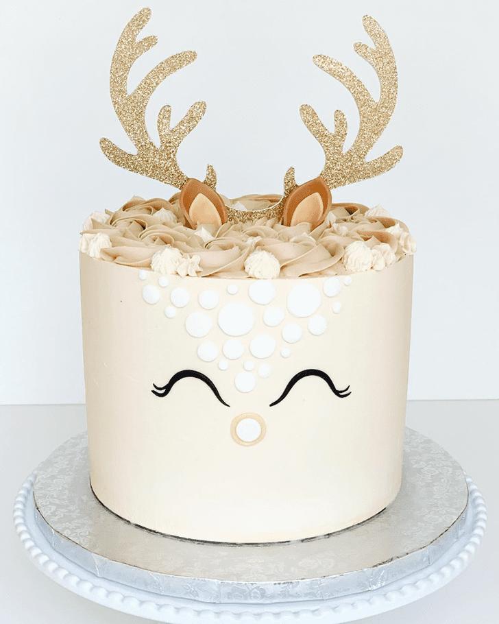 Adorable Deer Cake