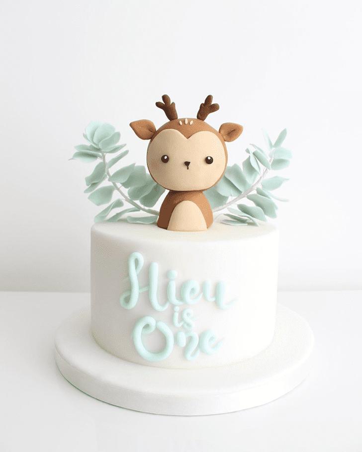 Alluring Deer Cake